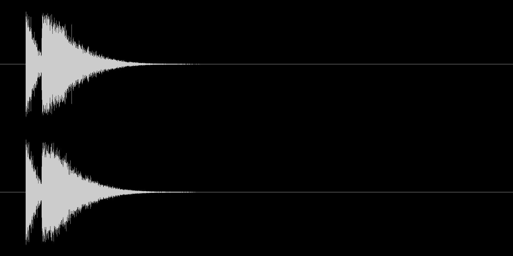 ビームライフル3★リバーブ有の未再生の波形