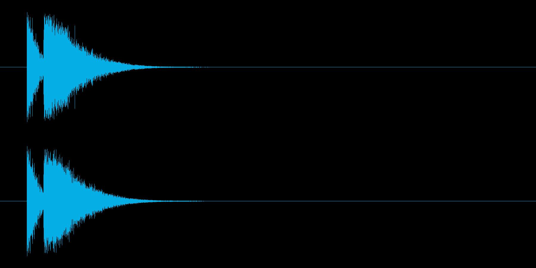 ビームライフル3★リバーブ有の再生済みの波形