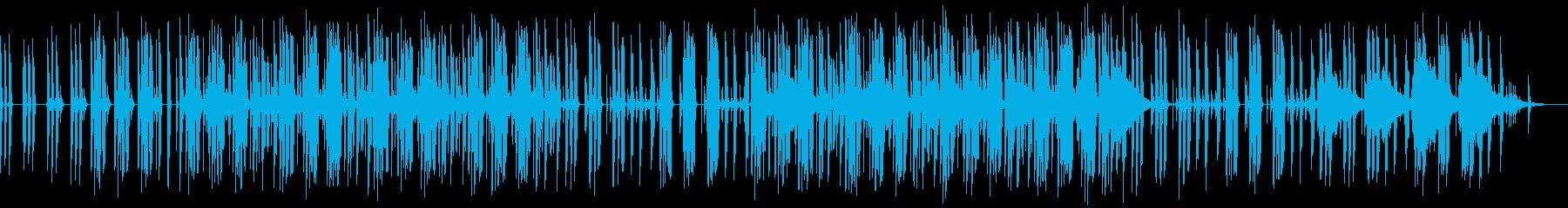 エキゾチックでかわいいテクノポップの再生済みの波形