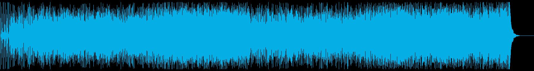 おしゃれでスタイリッシュなフュージョンの再生済みの波形