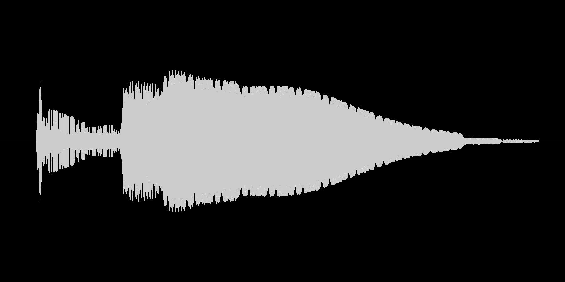 ゲーム、クイズ(ピンポン音)_005の未再生の波形