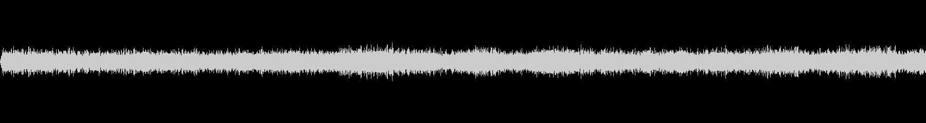 夏の田舎の夜(環境音)/虫の鳴き声の未再生の波形