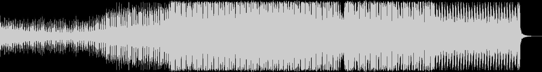 アップテンポなEDMの未再生の波形