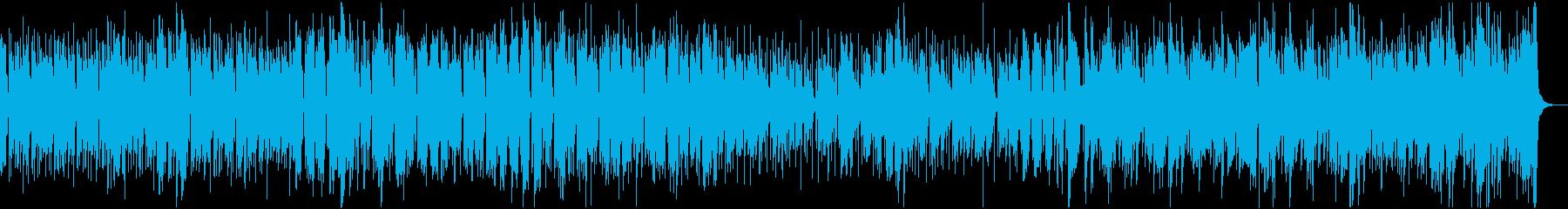 口笛とアコギでジングルベル、リズム有りの再生済みの波形