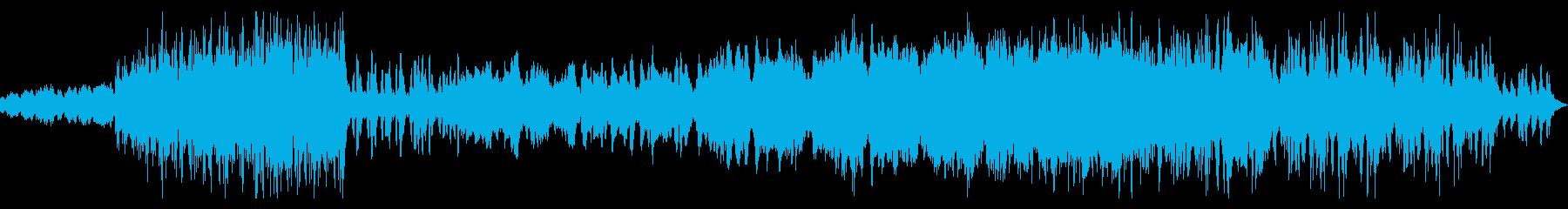 疾走感のある木管曲の再生済みの波形