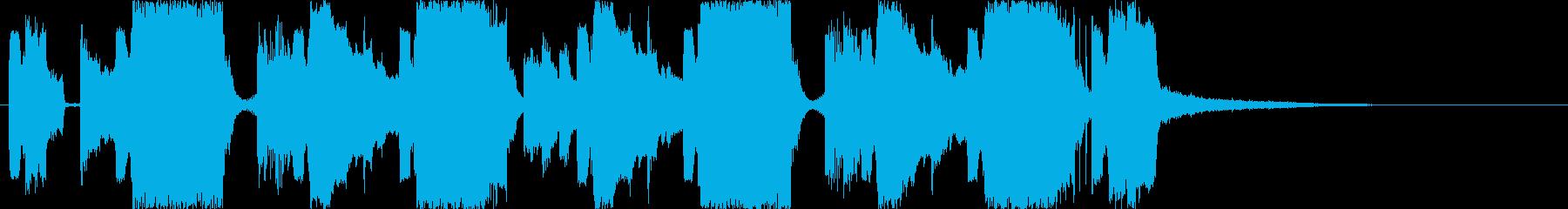 爽快なEDM/FutureBassの再生済みの波形