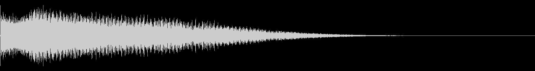 メタルワープ、スチールケーブルのピ...の未再生の波形