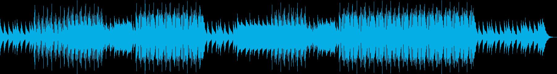 爽快で可愛いフューチャーベースの再生済みの波形