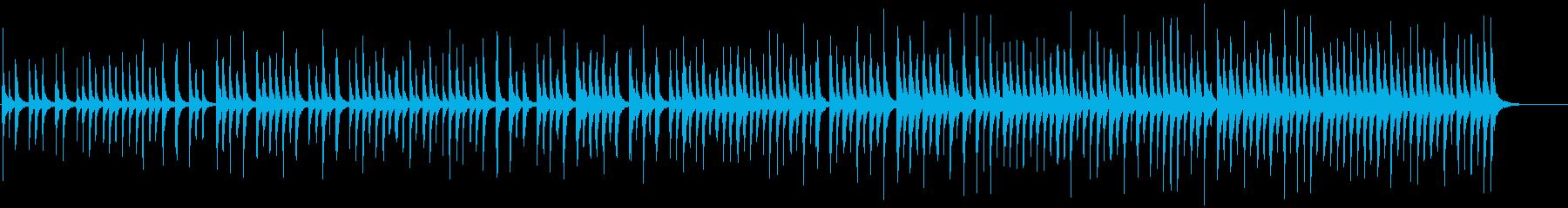 大人数のハンドクラッピングアンサンブルの再生済みの波形