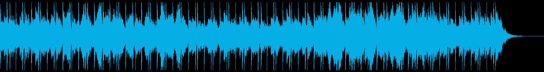 重く鬱々としたエレクトロニカの再生済みの波形