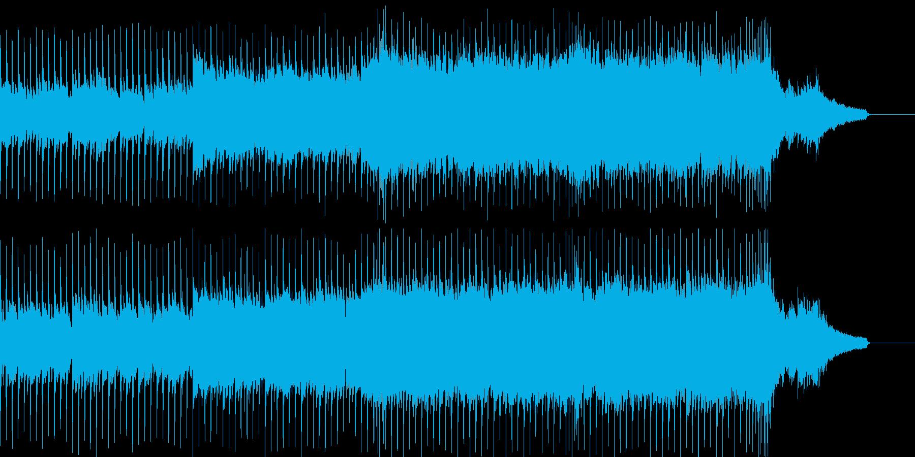 企業VP系51、ギター、4つ打ちロックbの再生済みの波形