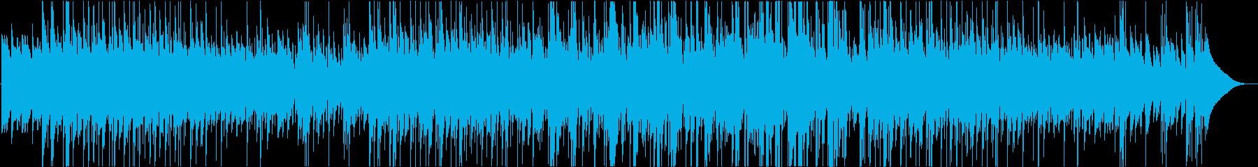 ギター2本による6/8の曲の再生済みの波形