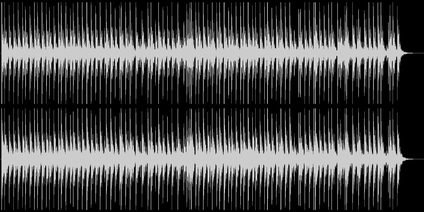 相撲の寄せ太鼓風SE その1の未再生の波形