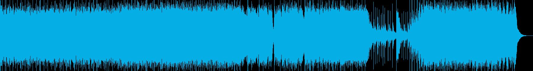 メタル アクティブ 明るい ワイル...の再生済みの波形