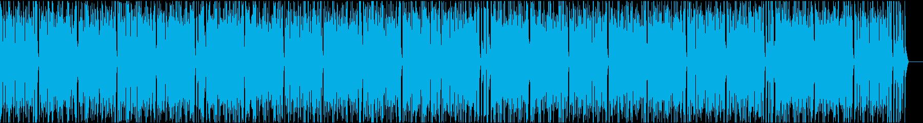 おしゃれイケイケ/イントロ9秒の再生済みの波形