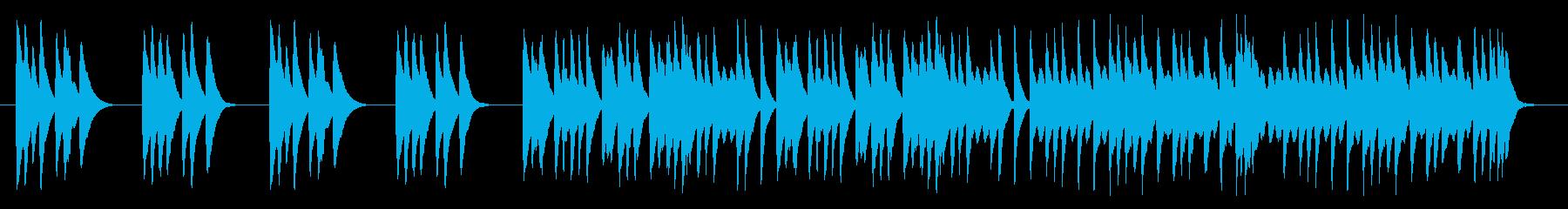 木琴だけのかわいいBGMの再生済みの波形