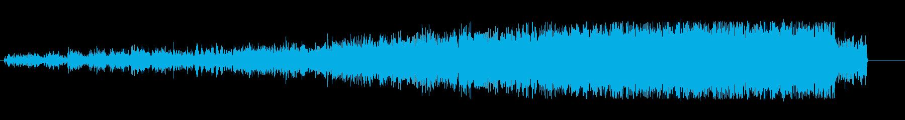 上昇 テープマシンノイズスピンアップ04の再生済みの波形
