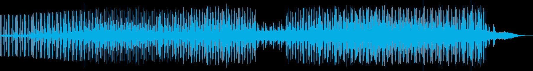 劇伴 シーンを盛り上げるミニマルテクノの再生済みの波形