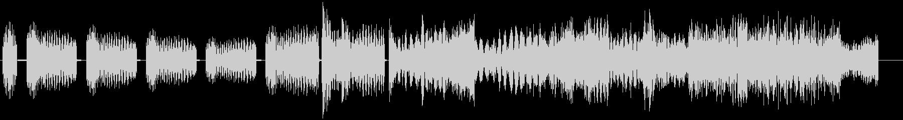 ハードヒットロックスタブの未再生の波形