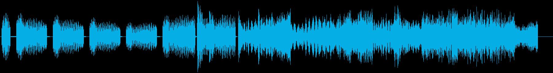 ハードヒットロックスタブの再生済みの波形