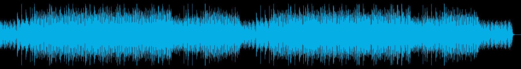 独特なリズムの、透明感があるEDMの再生済みの波形