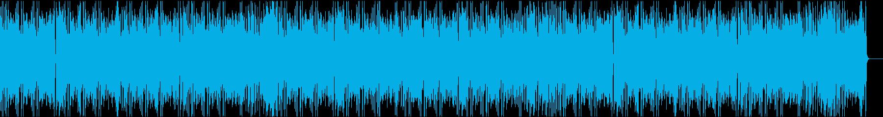 かわいいコミカル/カラオケの再生済みの波形