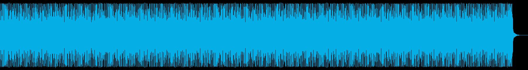 疾走 エレキギター 高速 スピード感の再生済みの波形