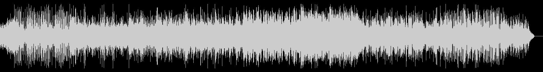 ブレイクビートの緊迫したBGMの未再生の波形