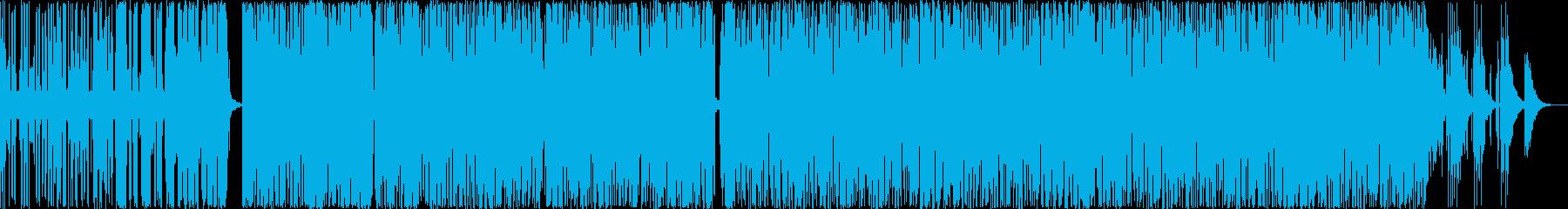 インストドラミンベーストラックの再生済みの波形