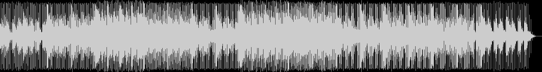 ユーモラスで元気な感じのBGMの未再生の波形