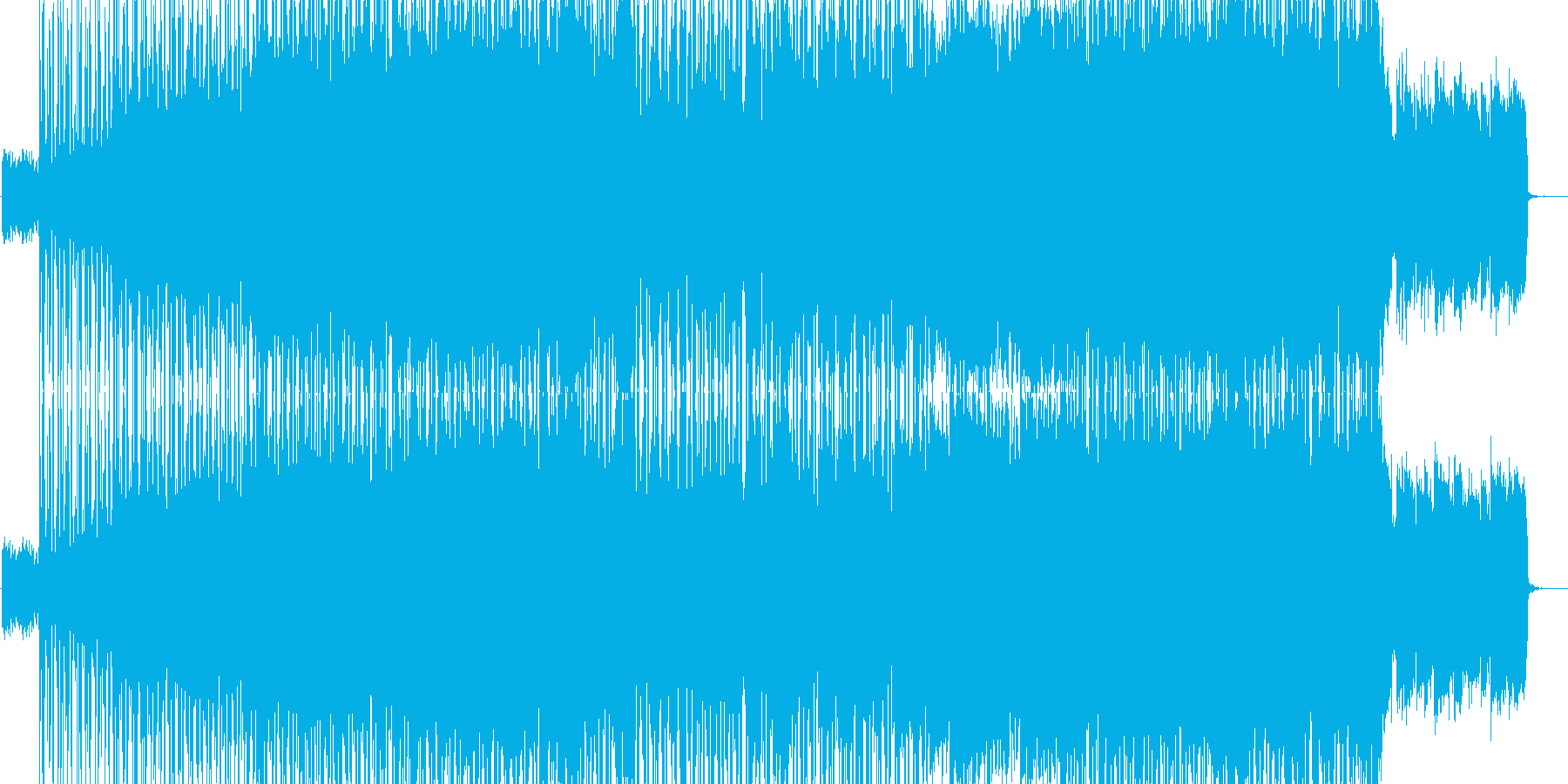 Voyagerの再生済みの波形