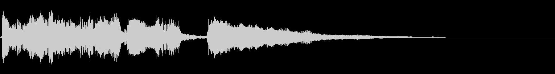クリーンギターのアルペジオ、転換時etcの未再生の波形