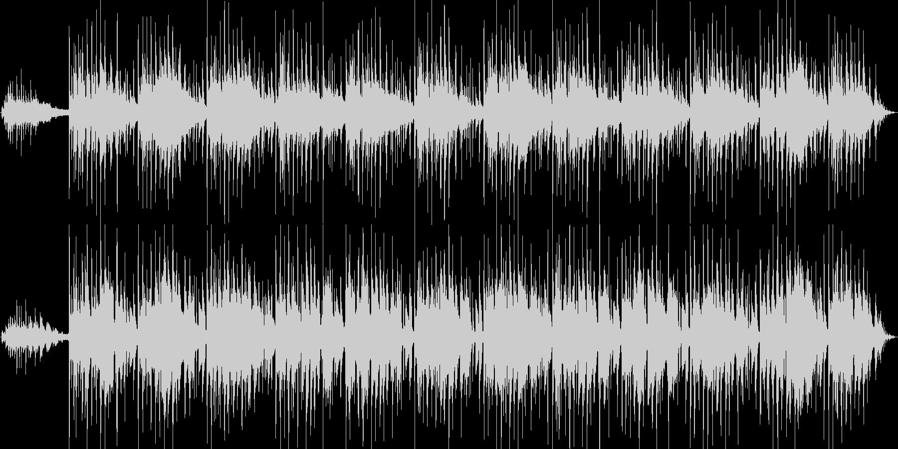 生演奏アコースティックギターハーモニクスの未再生の波形