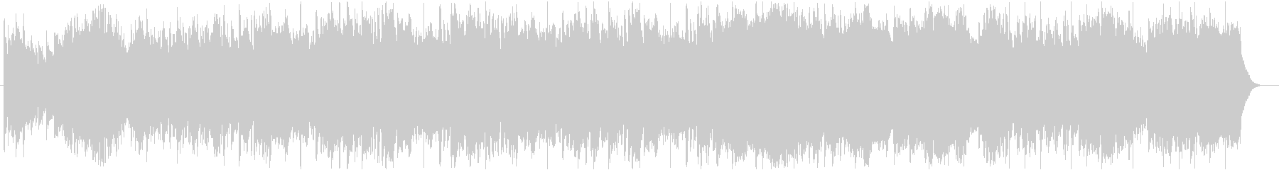 雄大な自然をイメージするフィールドBGMの未再生の波形