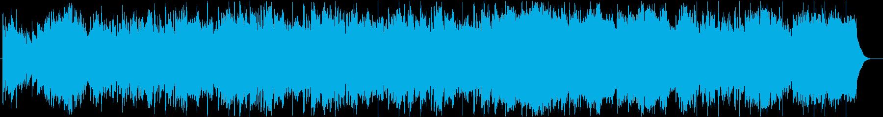 雄大な自然をイメージするフィールドBGMの再生済みの波形