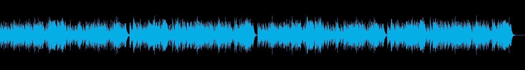 バッハ「G線上のアリア」オルゴールの再生済みの波形