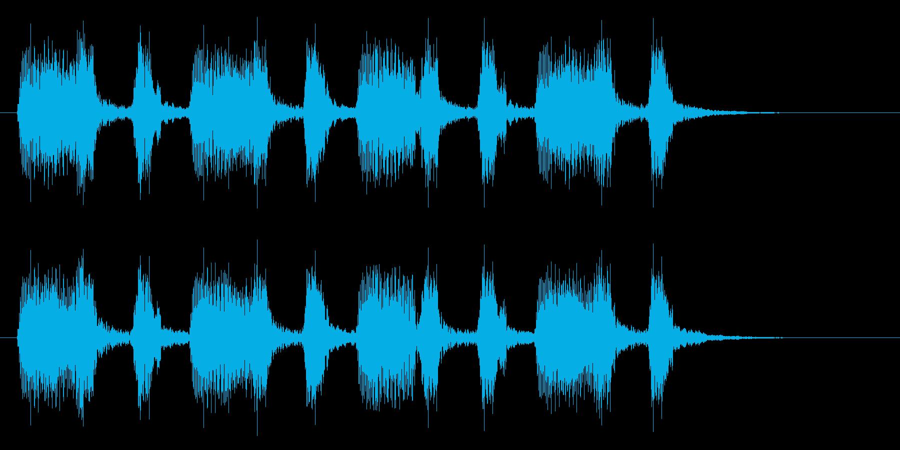 ウゥ~ワッワ・・・(アコーディオン風)の再生済みの波形