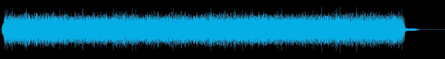 カーペットホッチキスコンプレッサー...の再生済みの波形