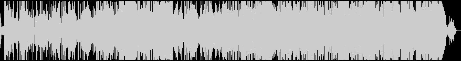 ミステリアスなサウンドが印象的なロックの未再生の波形