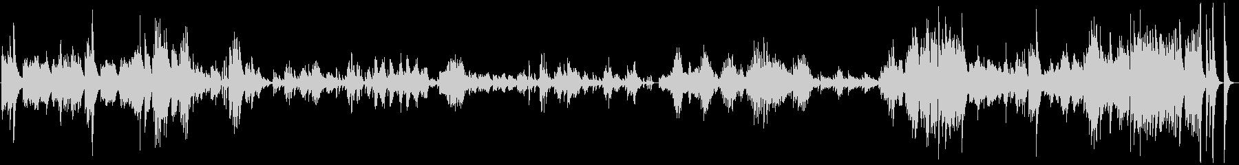ドビュッシー ベルガマスク1プレリュードの未再生の波形