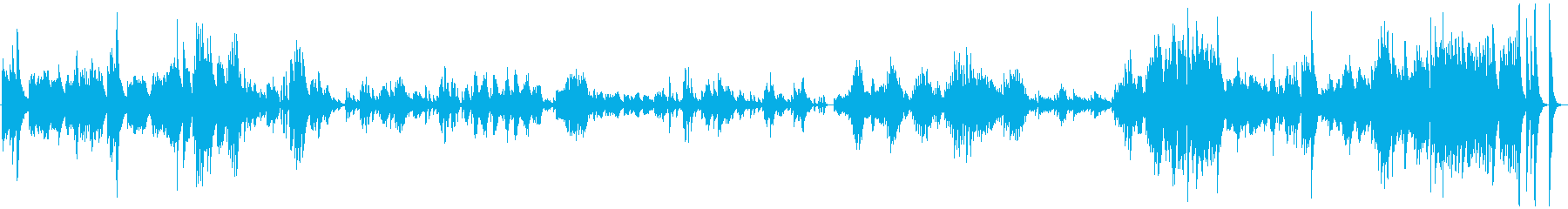 ドビュッシー ベルガマスク1プレリュードの再生済みの波形