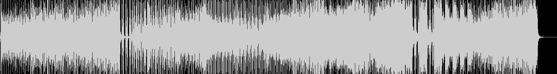 七変化アニメーションダンス調ポップ B2の未再生の波形
