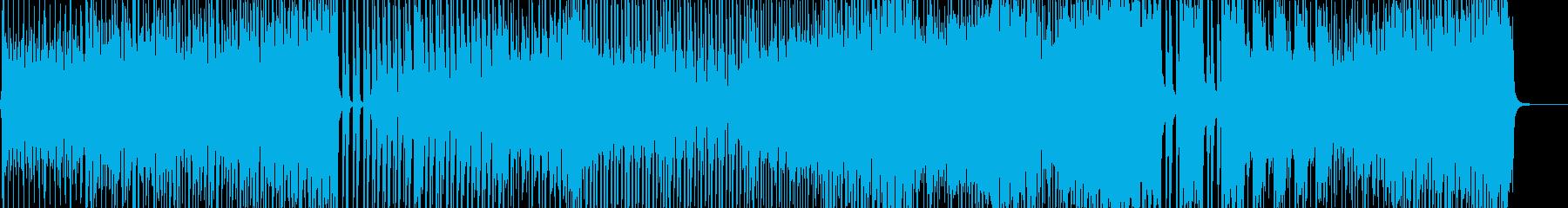 七変化アニメーションダンス調ポップ B2の再生済みの波形