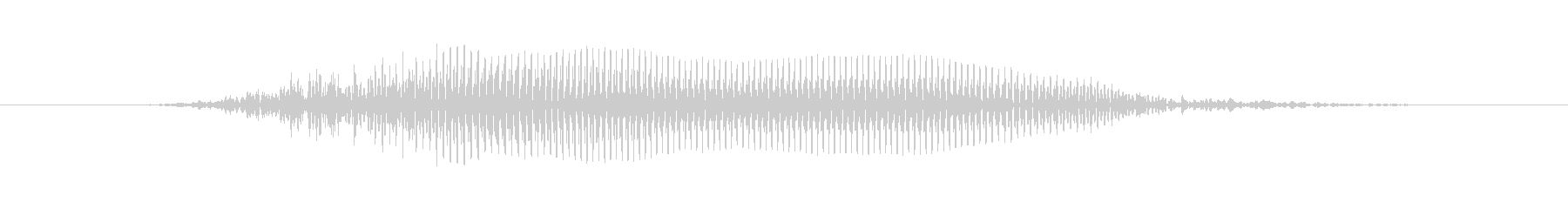 ほーうの未再生の波形