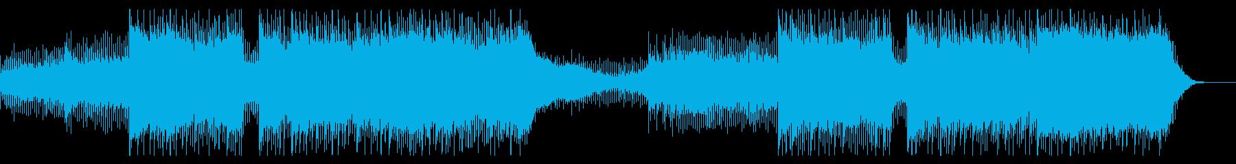 プロモーション、イントロ、ショーリール、の再生済みの波形