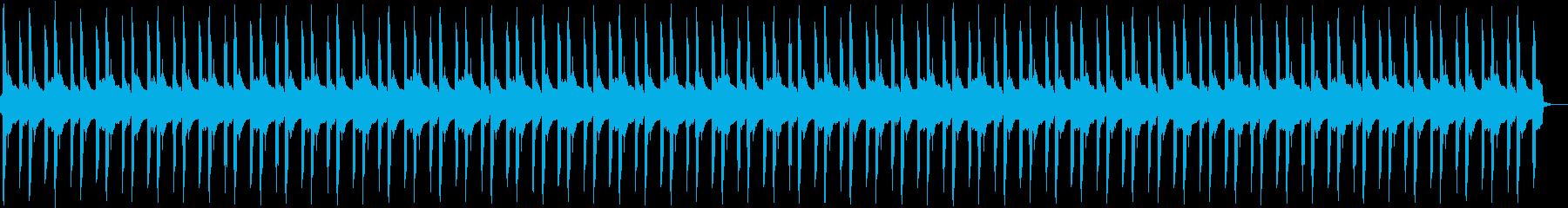 ゆったりとした場面転換や会話裏に使える曲の再生済みの波形