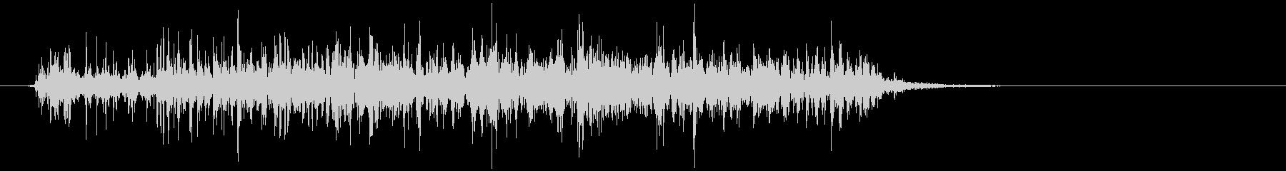 シェービングクリーム (ジュワゥ)の未再生の波形
