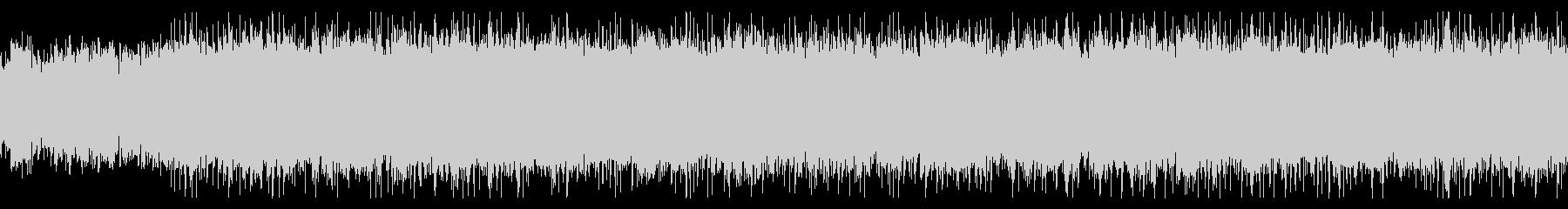 明るいケルト風音楽の未再生の波形