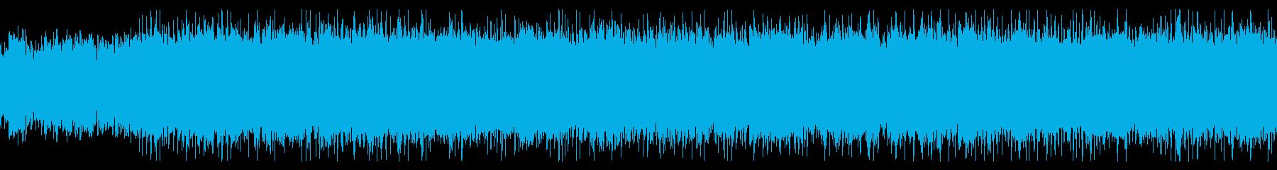 明るいケルト風音楽の再生済みの波形