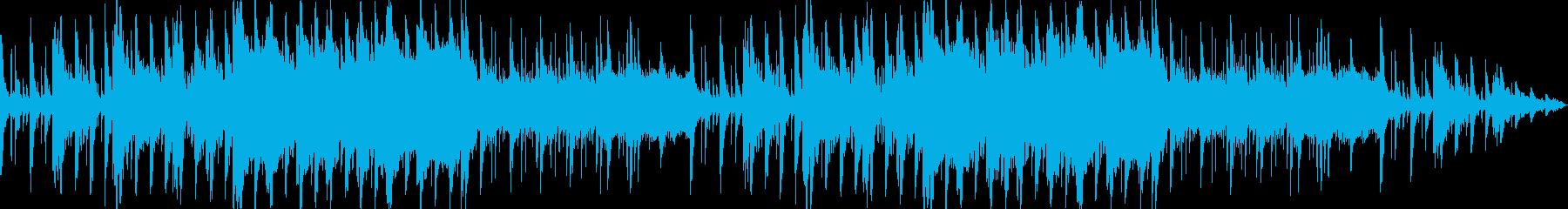 幻想的で美しくも壮大な和風ミュージックの再生済みの波形